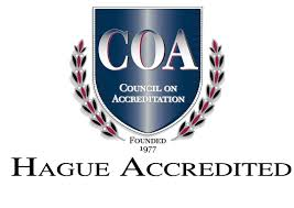 HAGUE ACCREDITATION LOGO